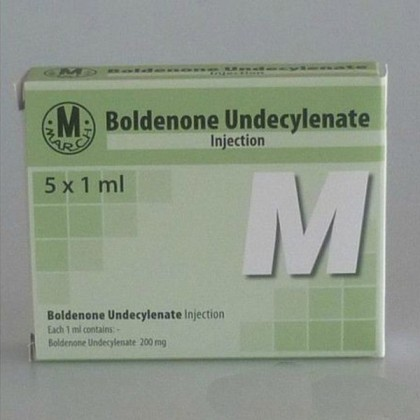 Boldenon undecylenate March 200mg/amp