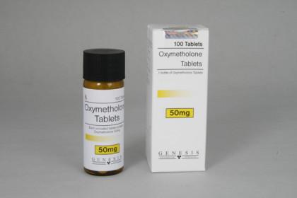 Oxymetholone tabletki 50mg (100 tab)