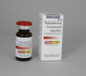 Testosteron compound zastrzyki 250mg/ml (10ml)
