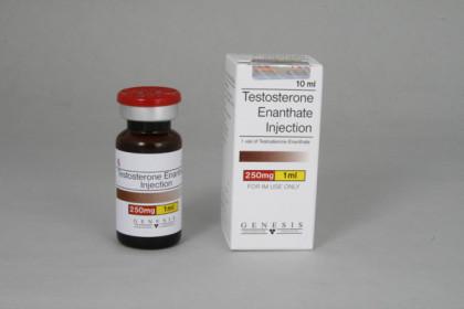 Testosteron Enanthate zastrzyki 250mg/ml (10ml)